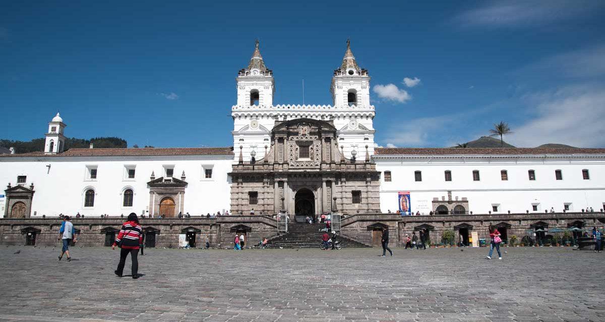 Quito's Historic San Fransisco Plaza