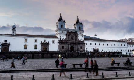 The Iglesia San Francisco in Historic Quito