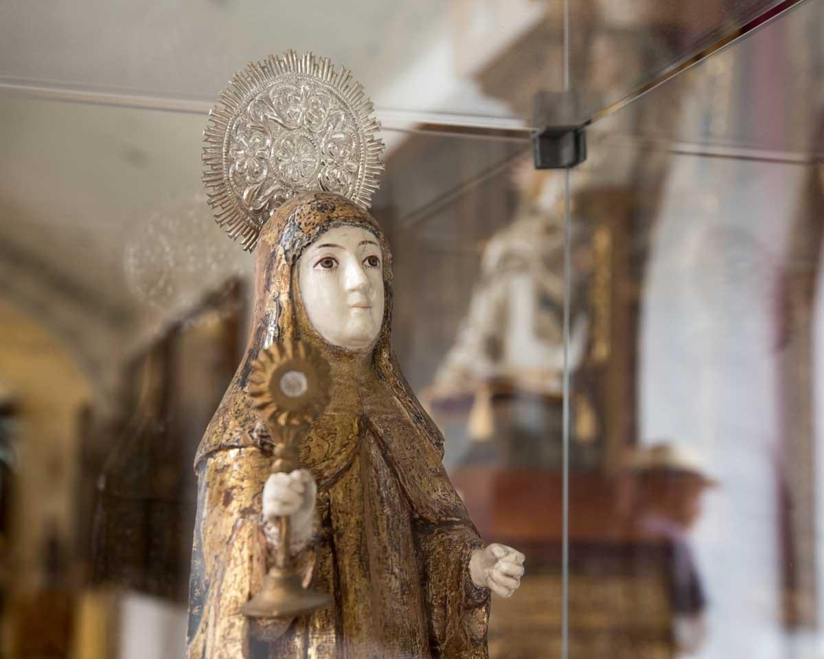 Santa Clara de Assisi, San Francisco Church Museum, Quito   ©Angela Drake