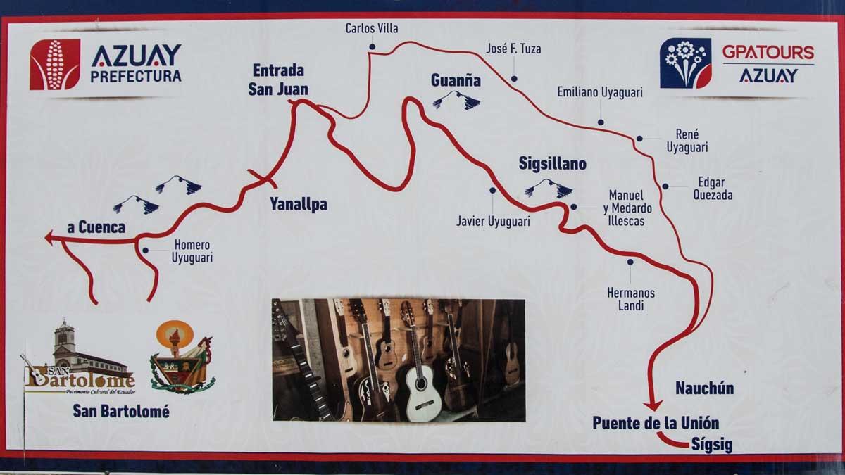 Route of the Guitars, San Bartolome, Ecuador | ©Angela Drake