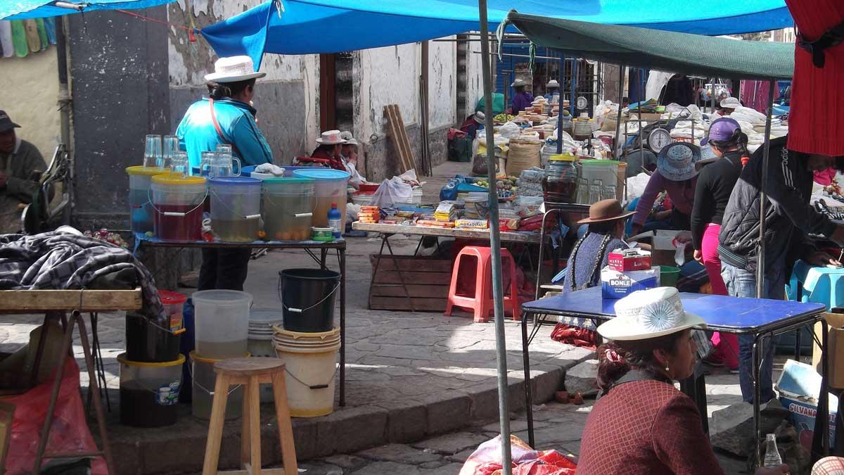Local Market, Chivay, Peru | ©Eleanor Hughes