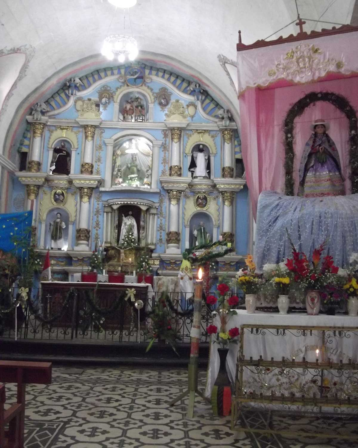 Church of our Lady of the Assumption, Chivay, Peru | ©Eleanor Hughes