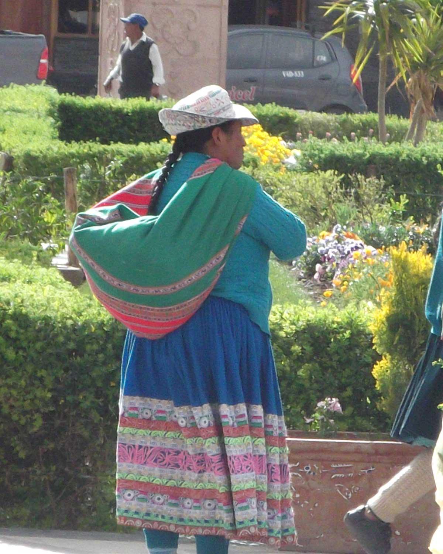 Local in Chivay, Peru | ©Eleanor Hughes