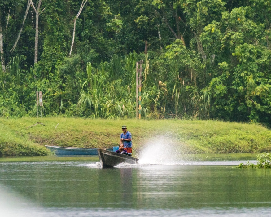 What takes the place of the AAA for help on the Nangartiza River. |© Ernest Scott Drake