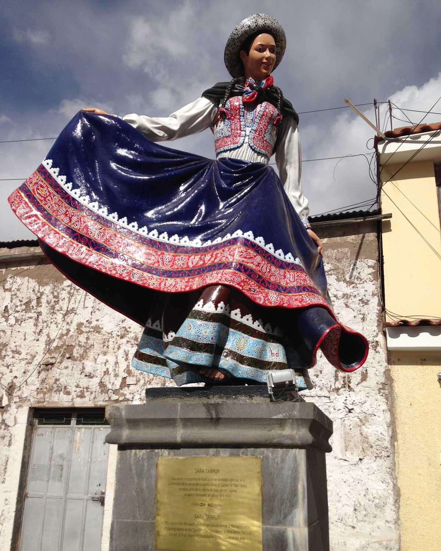 Sara Tarpuy Dancer, Chivay, Peru | ©Eleanor Hughes