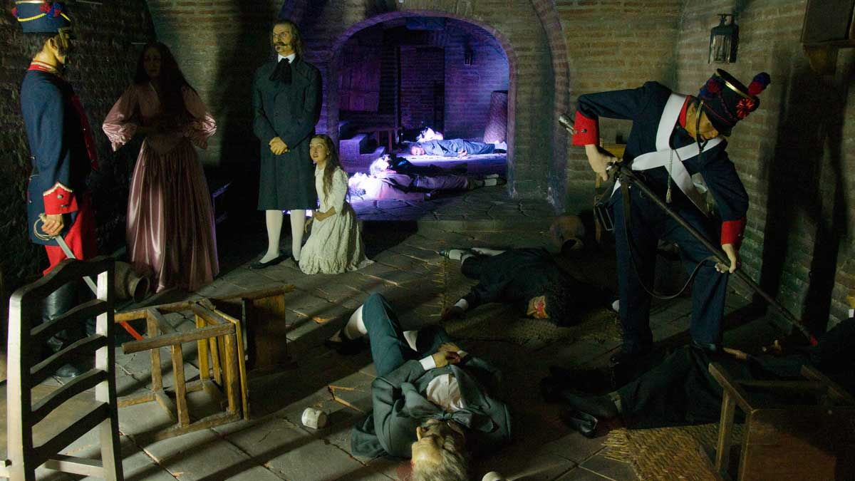 The 1810 Massacre of Revolutionaries; Museo de Alberto Mena Caamaño, Quito, Ecuador | ©Angela Drake