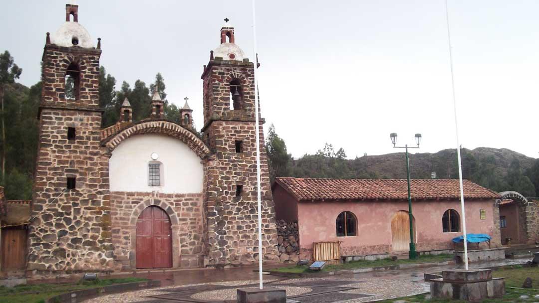 San Miguel de Raqchi Chapel, Peru | ©Eleanor Hughes