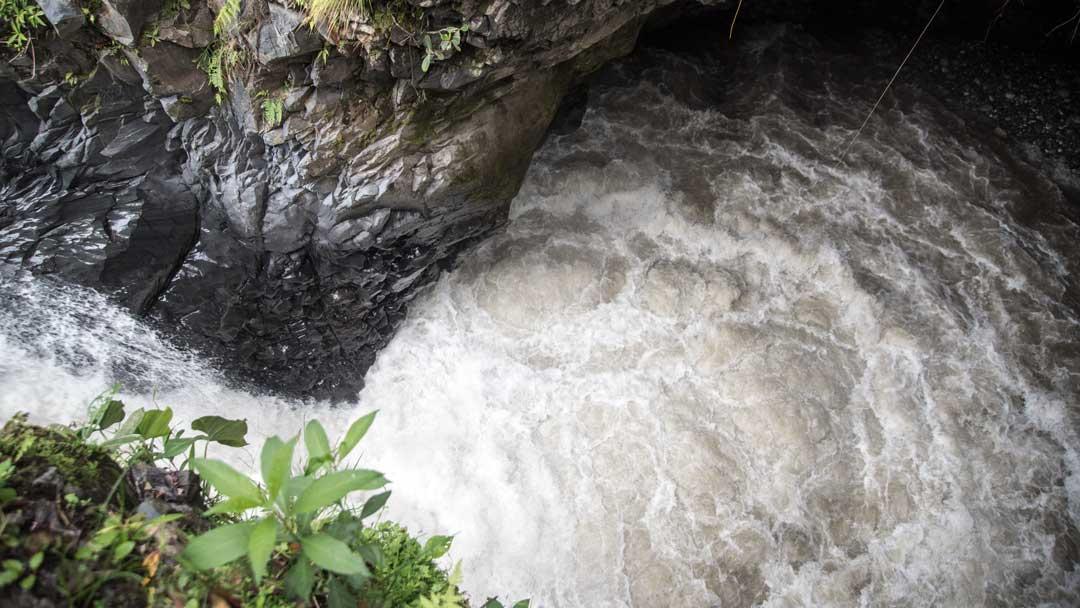 The first view point at the Isla del Pailon Trail, Rio Verde, Ecuador   ©Angela Drake