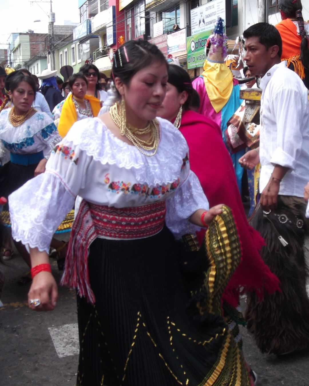 Desfile de la Alegría in Cayambe, Ecuador | ©Jacqueline Granda
