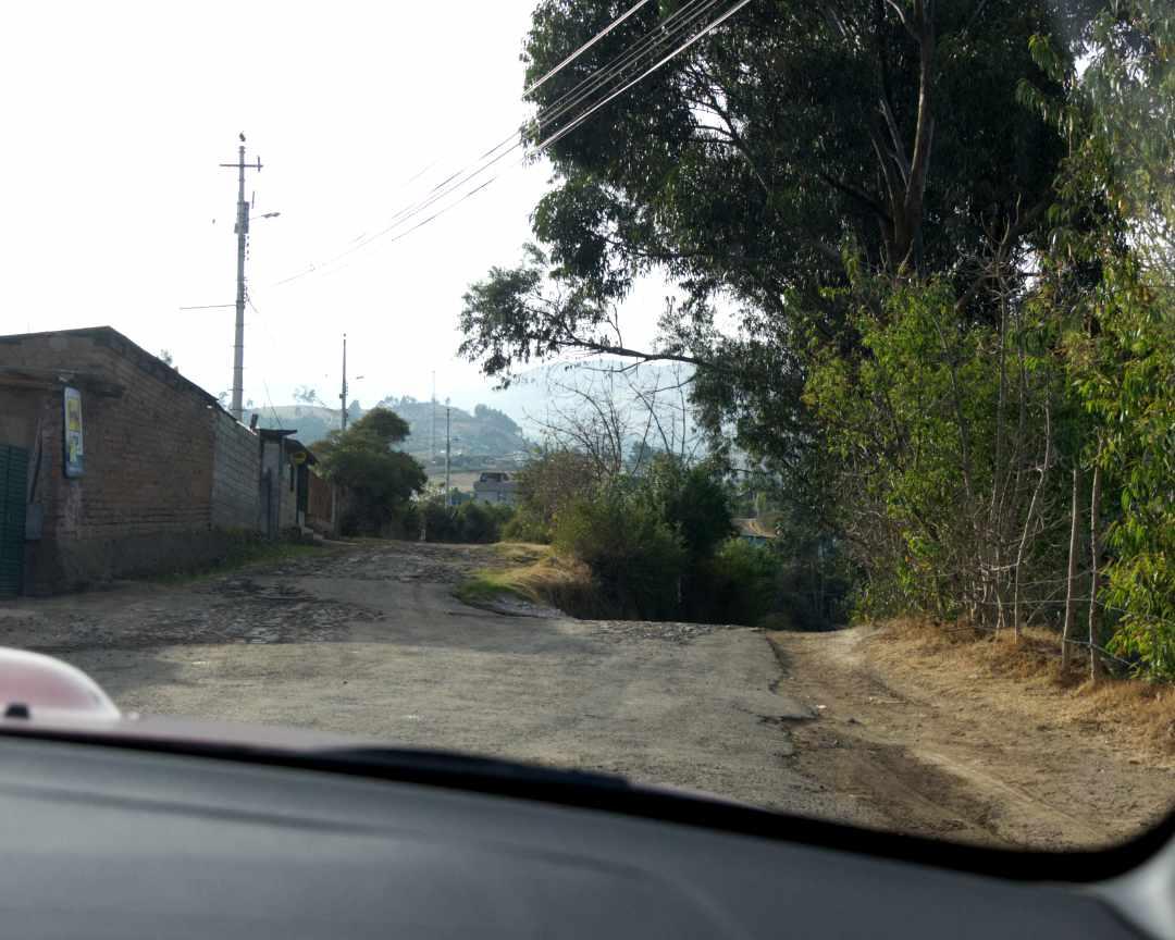 Split in the Road, Checa, Ecuador | ©Angela Drake