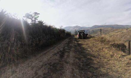Driving to Cerro Puntas
