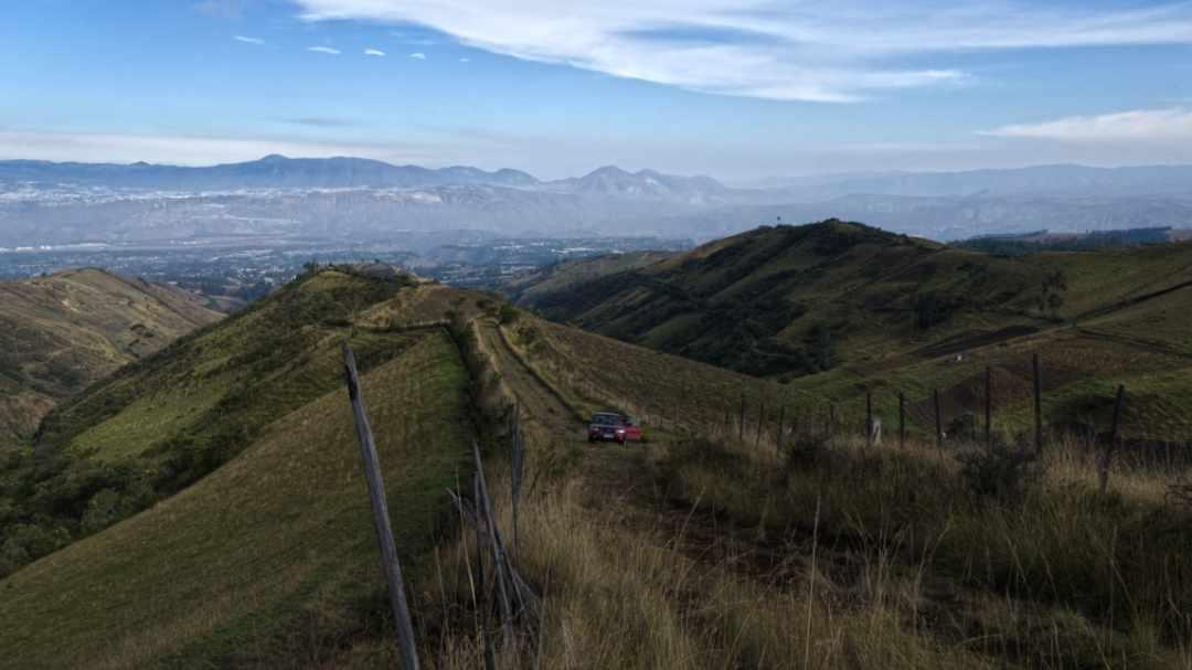 View from the Camino al Cerro Puntas | ©Angela Drake
