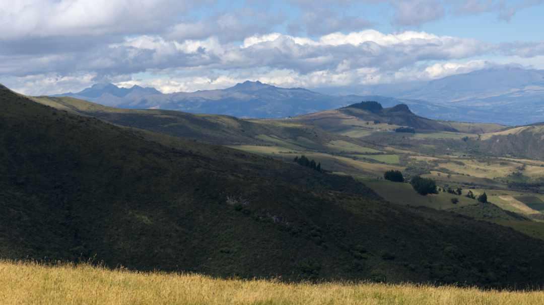 Stunning Views From the Camino al Cerro Puntas near Quito, Ecuador | ©Angela Drake