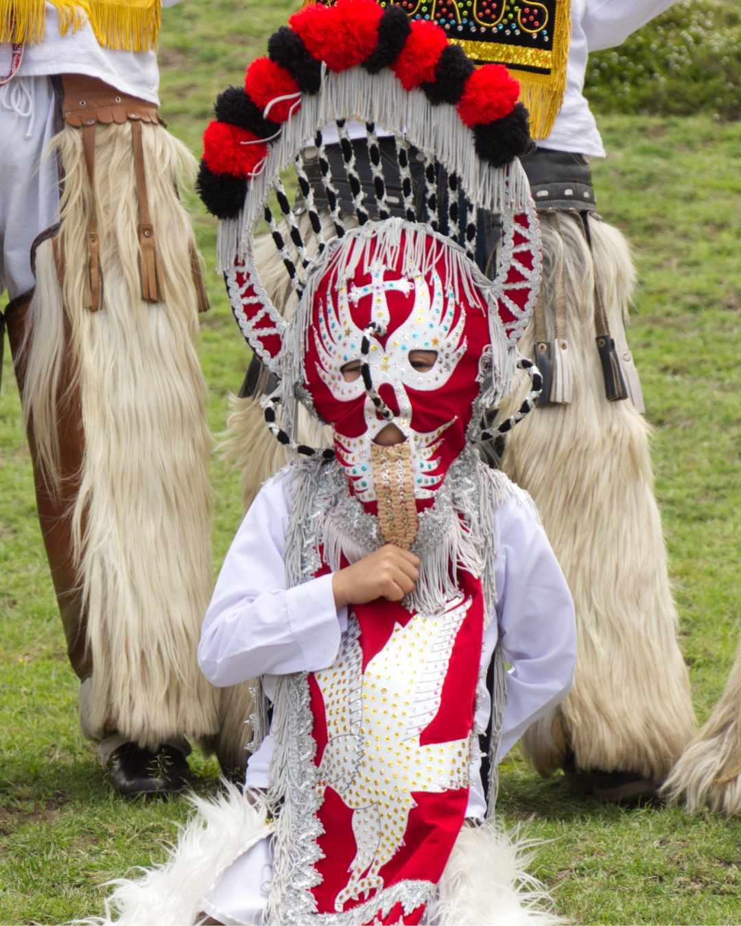 A Young Aya-Huma from Tabacundo, Ecuador| ©Angela Drake