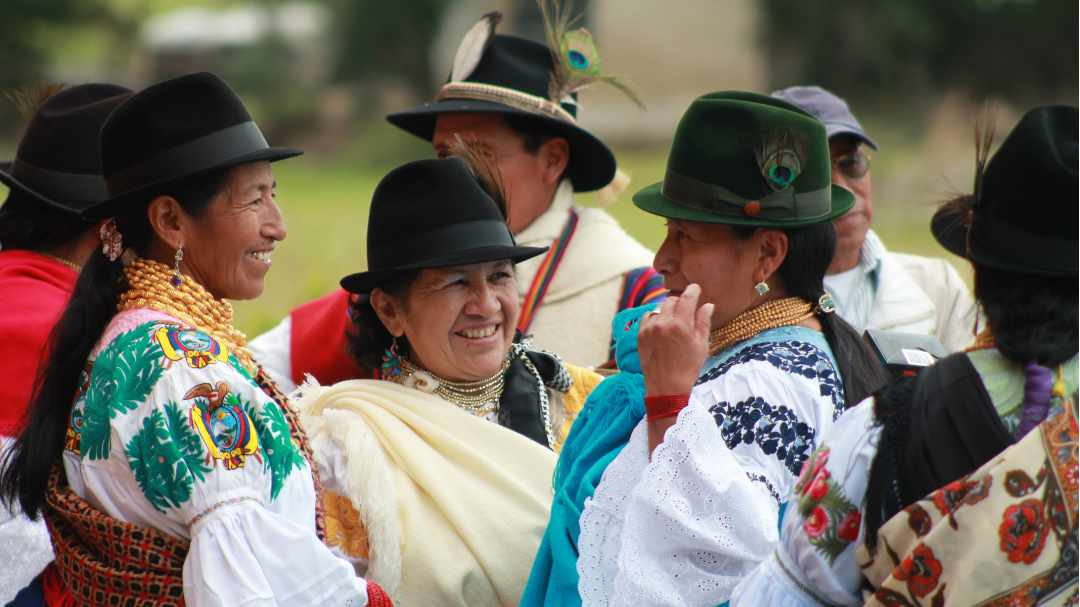 Women of Zuleta in Traditional Costume | ©Felipe Escola