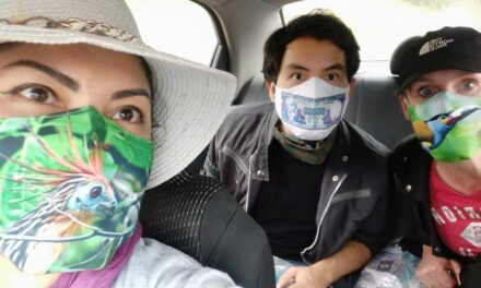 Wear A Mask With Ecuador's Beautiful Places